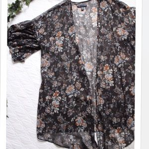 American Eagle Outfitters Floral Duster